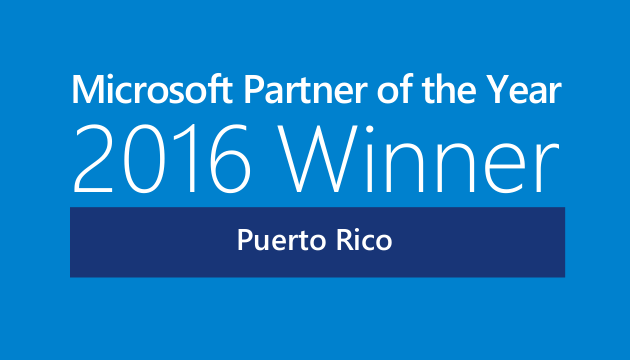 Intech 2016 Microsoft Country Partner of the Year